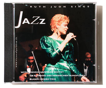 CD Cover: «Ruth Juon sings Jazz»